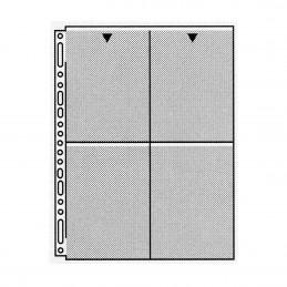 """Fogli portadiapositive 4x5"""" (10x12 cm) - Confez. 10 fogli"""