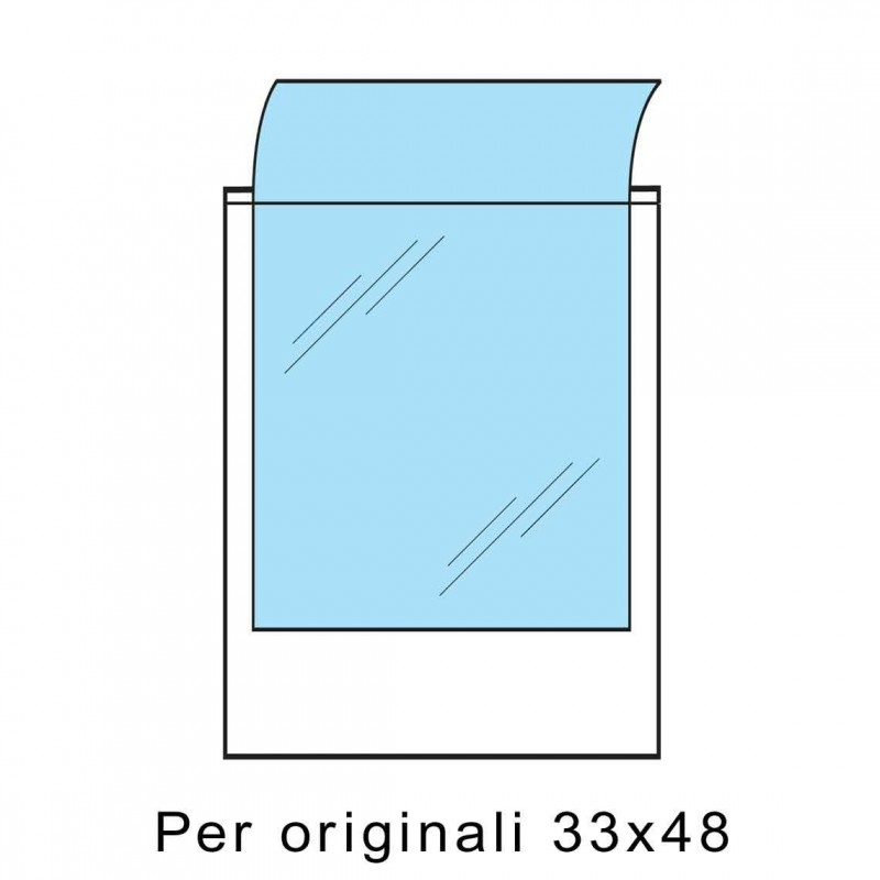 Busta PRINT PROTECTOR 33x48 Confezione 100 pz. (Svar)