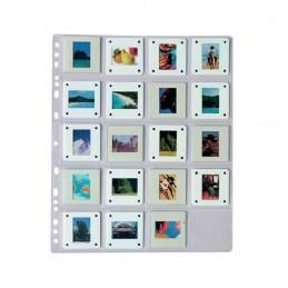 """Buste """"TAURUS"""" per 20 diapositive 135 su telaietto 5x5 cm - Confez. 25 fogli (Svar)"""