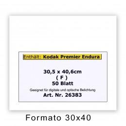 KODAK ENDURA PREMIER 30,5x40,6/50 F Lucida