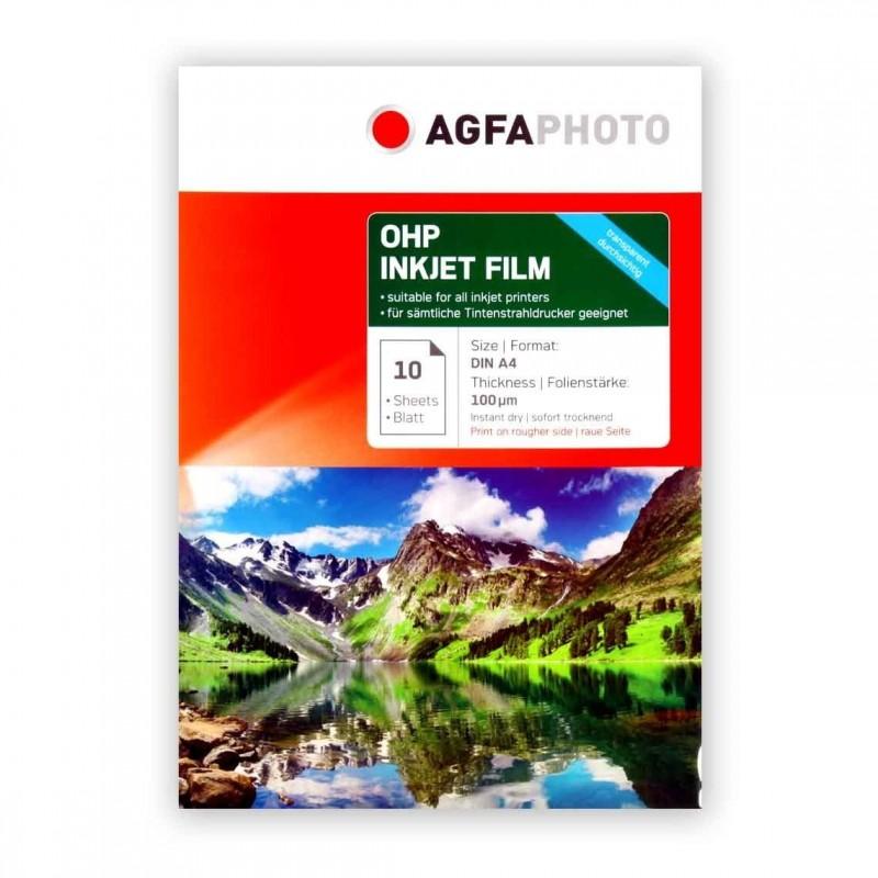 AGFA OHP INKJET FILM - A4 - Conf. 10 fogli
