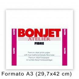 BONJET Atelier FIBRE formato A3 satinata 25 fogli