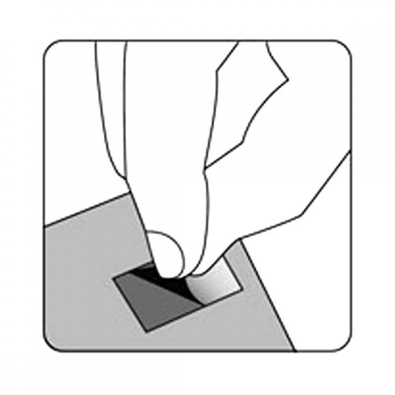 Quadratini biadesivi - Confez. 500 pz (Panodia)