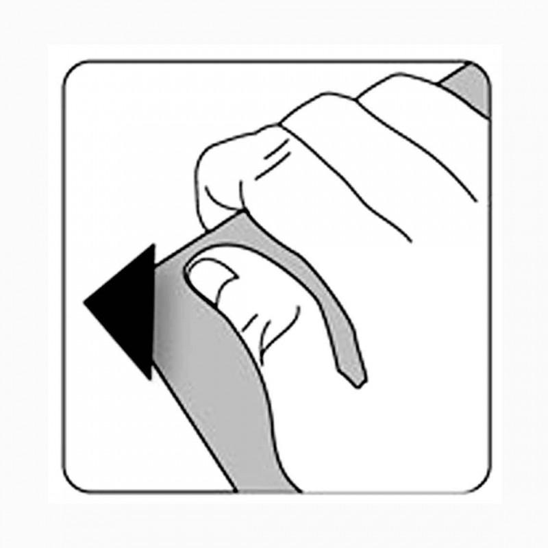 Angolini adesivi - Confez. 200 pz. (Panodia)