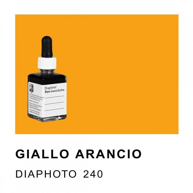 DIAPHOTO COLORE GIALLO ARANCIO Contenuto 30 ml.