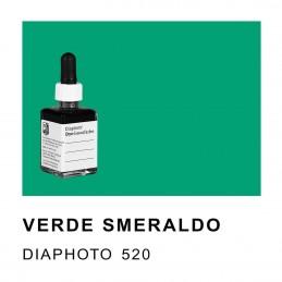 DIAPHOTO COLORE VERDE SMERALDO Contenuto 30 ml.