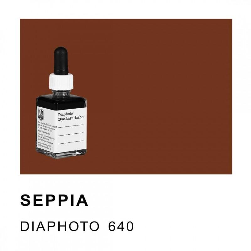 DIAPHOTO COLORE SEPPIA Contenuto 30 ml.