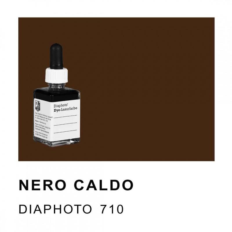 DIAPHOTO COLORE NERO CALDO (BRUNASTRO) Contenuto 30 ml.