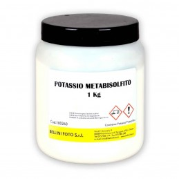 POTASSIO METABISOLFITO 1 kg.