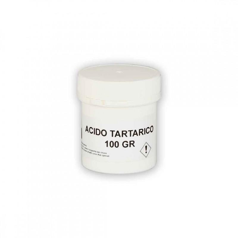 ACIDO TARTARICO 100 gr.