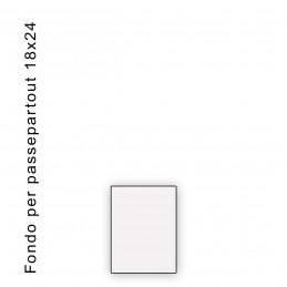 Fondo bianco misura 18x24 - spessore 1,3 mm