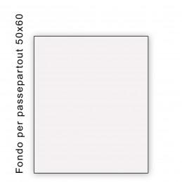 Fondo bianco misura 50x60- spessore 1,3 mm