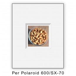 Passep. x Polaroid 600/SX70 foro centrato - 8 pezzi