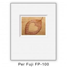 Passep. x Fuji FP100 foro decentrato - 10 pezzi