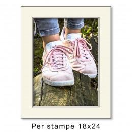 Passep. 24x30 per stampe 18x24 Avorio (sp. 1,3 mm)