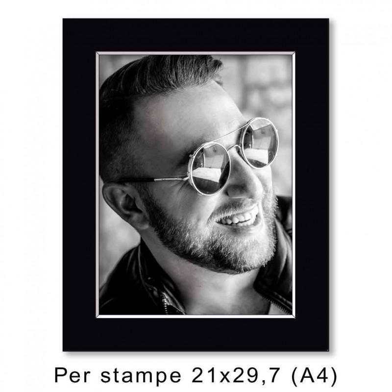 Passep. 30x40 per stampe A4 - 21x29,7 (sp. 1,3 mm)