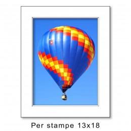 Passep. 18x24 per stampe 13x18 Bianco (sp. 1,3 mm)