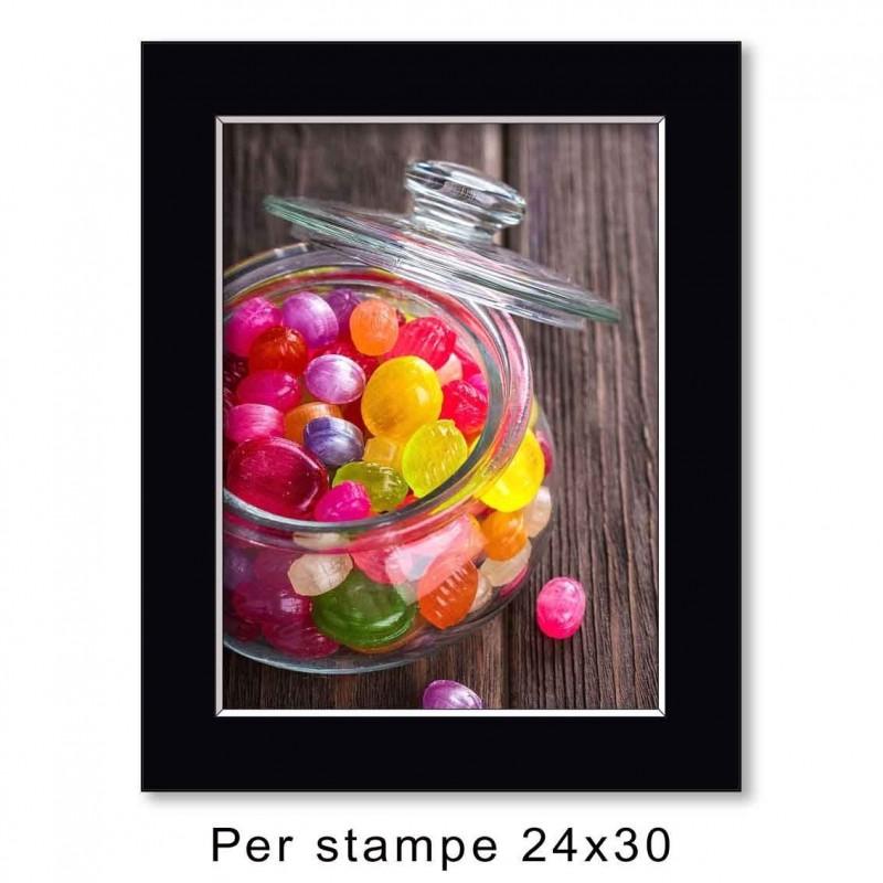 Passep. 30x40 per stampe 24x30 (sp. 1,3 mm)