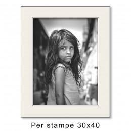 Passep. 40x50 per stampe 30x40, Avorio (sp. 1,3 mm)