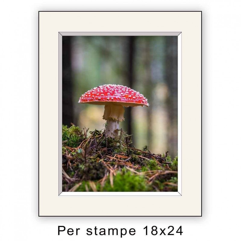 Passepartout 24x30 per stampe 18x24 (sp. 2,8 mm)