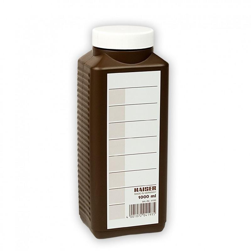 Bottiglia marrone per chimici da 1 Litro - Kaiser