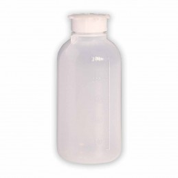 BOTTIGLIA RIGIDA semitrasparente da 250 ml