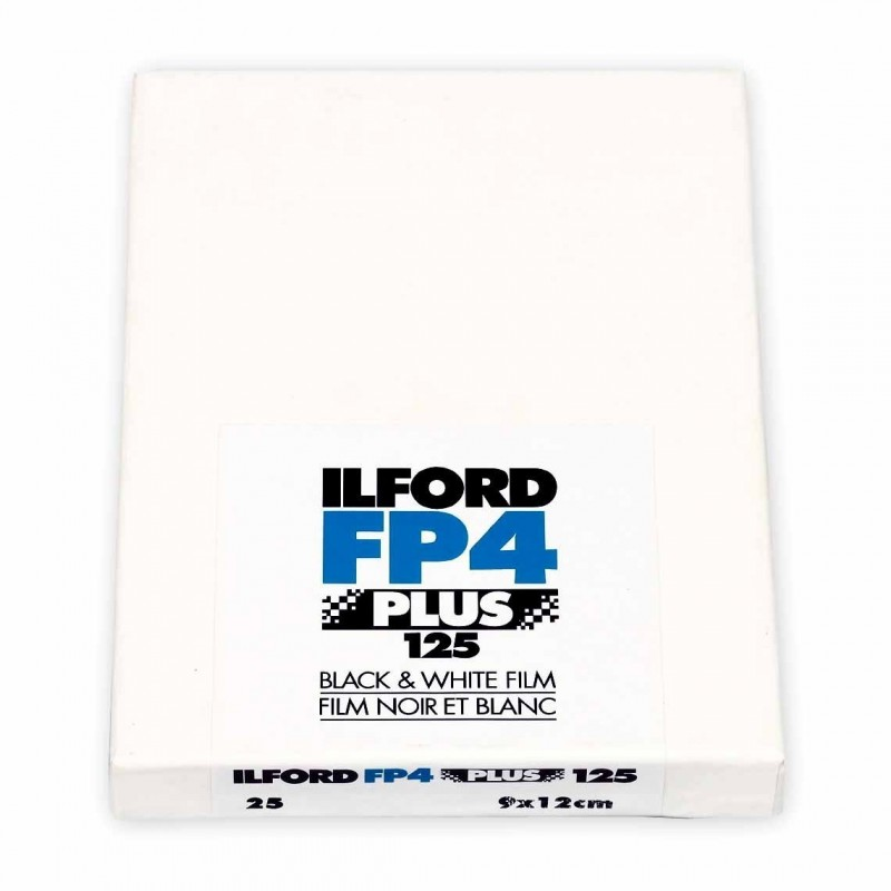 ILFORD FP4 PLUS PELL. PIANA 9x12 - 25 fogli
