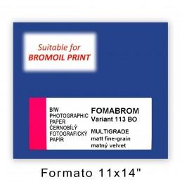 "FOMABROM VARIANT 113 BO 11x14"" matt fine-grain"