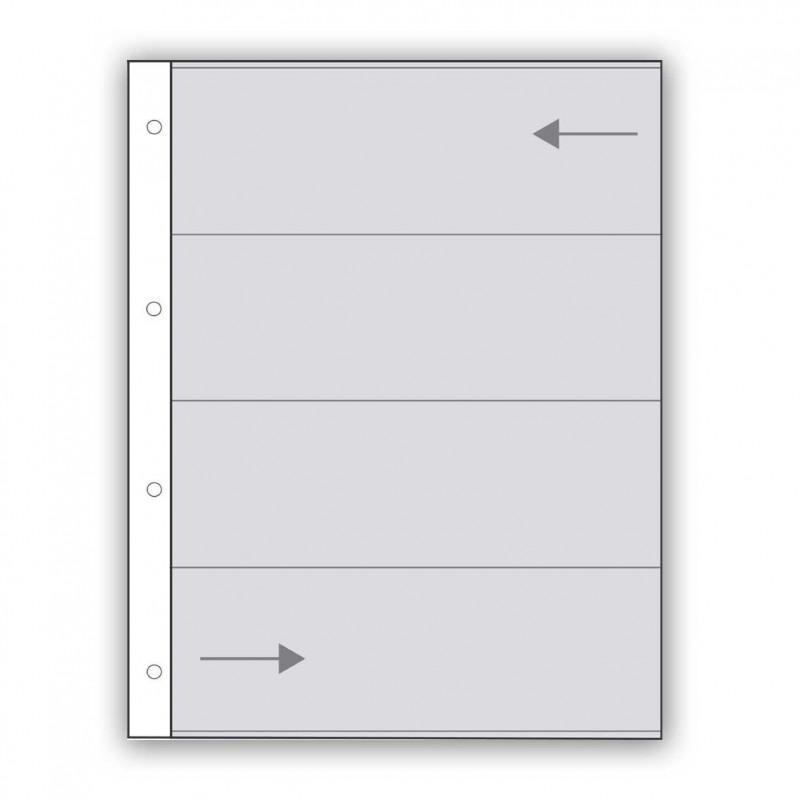 Fogli in pergamino per pellicole 120 - Confez. 100 fogli