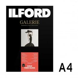 Galerie Gold Fibre Gloss A4 da 25 fogli