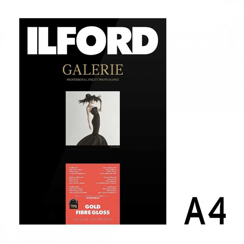 Galerie Prestige Gold Fibre Gloss A4 da 25 fogli