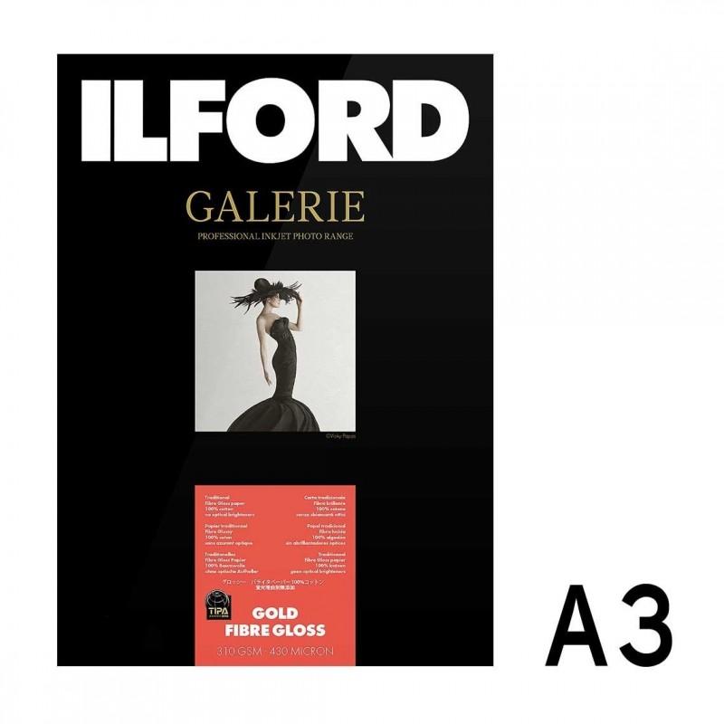 Galerie Prestige Gold Fibre Gloss A3 da 25 fogli