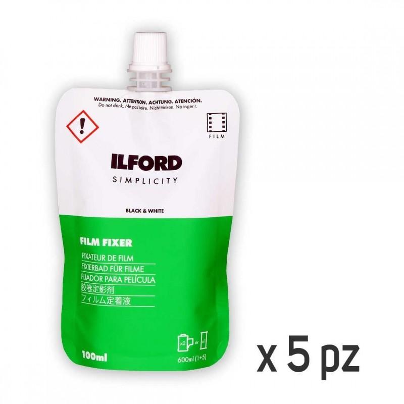 ILFORD SIMPLICITY Fissaggio negativo BN Monouso 5x100 ml