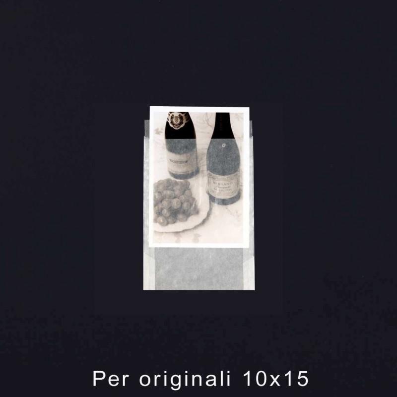 Buste in pergamino formato 10x15 - Confez. 100 pz.