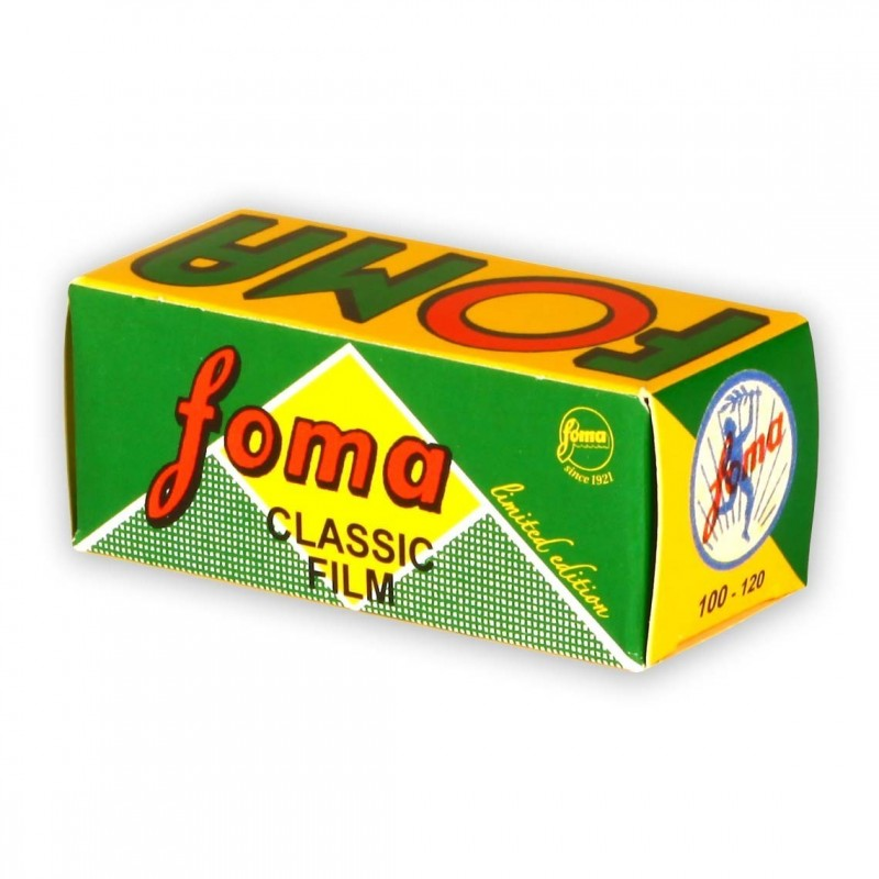 FOMAPAN 100 formato 120 RETRO LIMITED EDITION