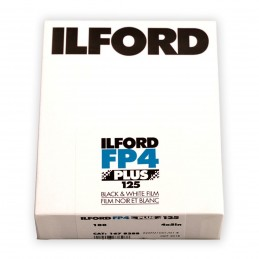 "ILFORD FP4 PLUS PELL. PIANA 4""x5"" da 100 fogli"