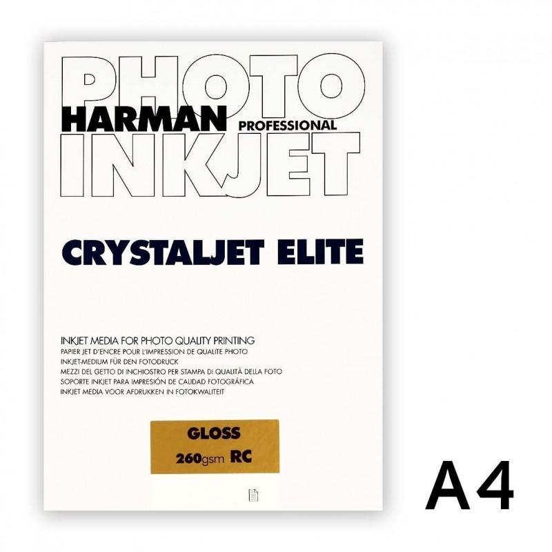 CRYSTALJET ELITE A4 Gloss (lucida) 25 fogli