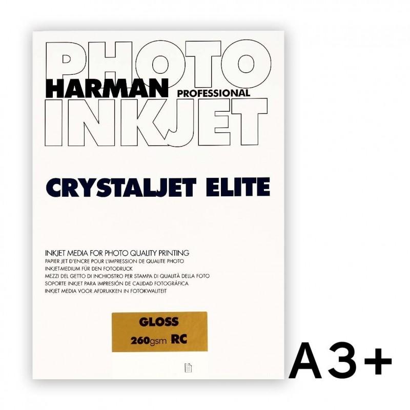 CRYSTALJET ELITE A3+ Gloss (lucida) 25 fogli