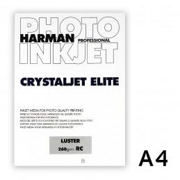 CRYSTALJET ELITE A4 Luster (satinata) 25 fogli