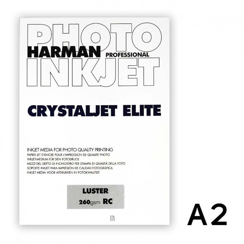 CRYSTALJET ELITE A3+ Lustre (perla) 25 fogli
