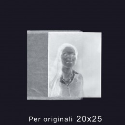 """Buste in pergamino formato 20x25 (8x10"""") - Confez. 100 pz."""