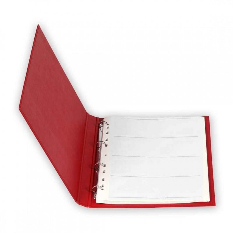 Quaderno ad anelli + 50 fogli pergamino 120