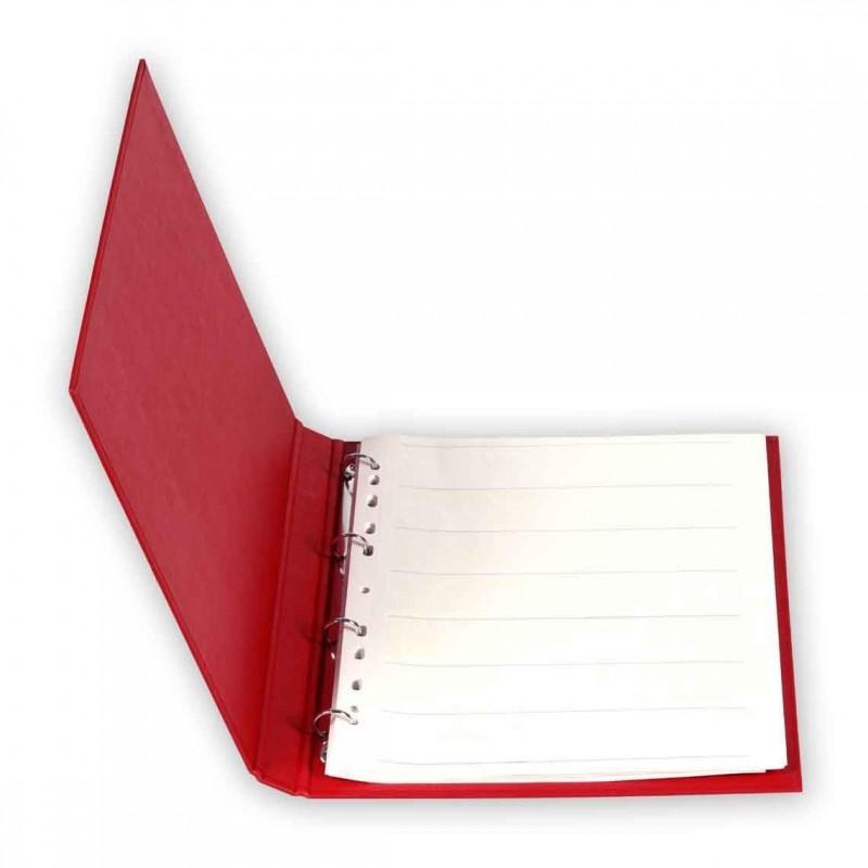Quaderno ad anelli + 50 fogli pergamino 135