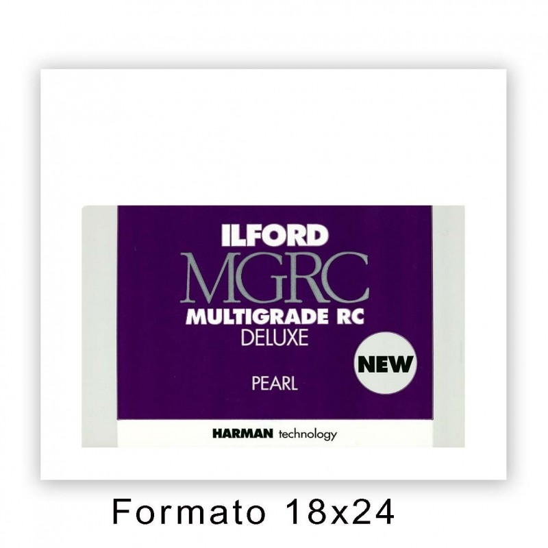 ILFORD MG RC DELUXE 17,8x24/100 44M Perla