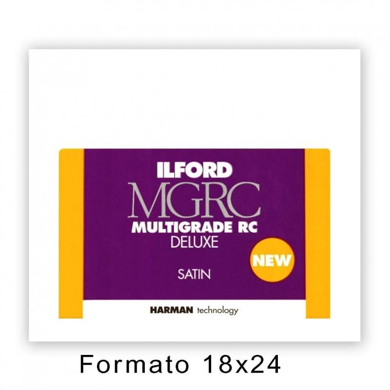 ILFORD MG RC DELUXE 17,8x24/100 25M Satinata