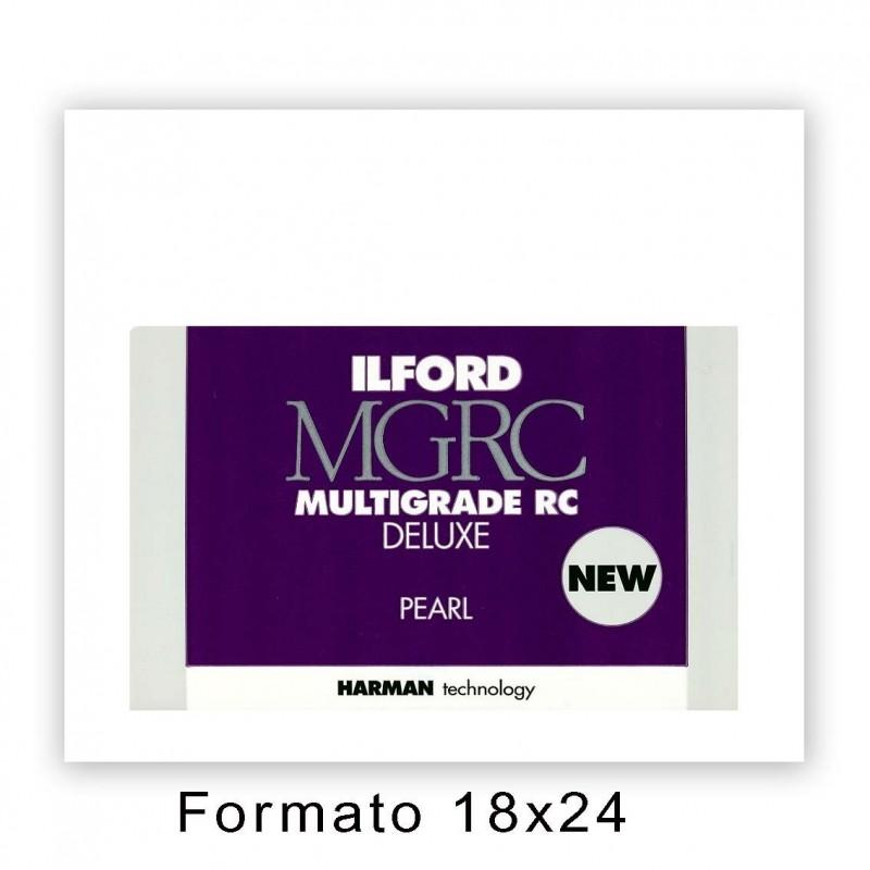 ILFORD MG RC DELUXE 17,8x24/25 44M Perla