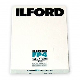 ILFORD FP4 PLUS PELL. PIANA 13x18 da 25 fogli