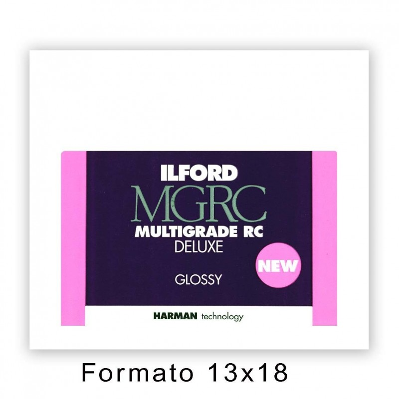 ILFORD MG RC DELUXE 12,7X17,8/100 1M Lucida