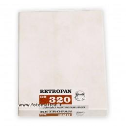 "FOMA RETROPAN 320 Pell. piana 4""x5"" - 25 fogli"