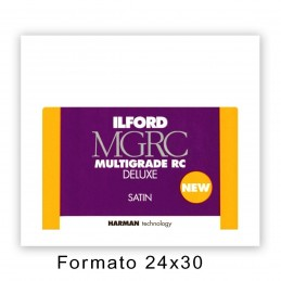 ILFORD MG RC DELUXE 24x30,5/10 25M Satinata